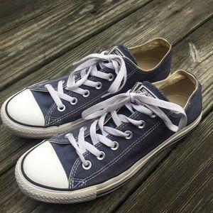 Converse Shoes - Women's navy converse